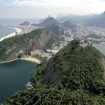 Levando uma velhinha americana para um passeio pelo Brasil