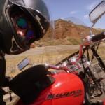 Cruzando os EUA numa moto…