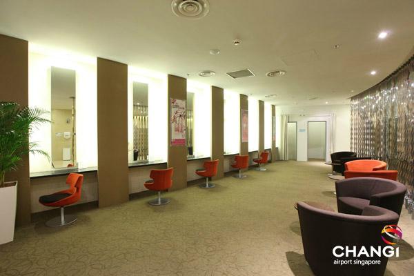 Banheiro feminino no terminal 3