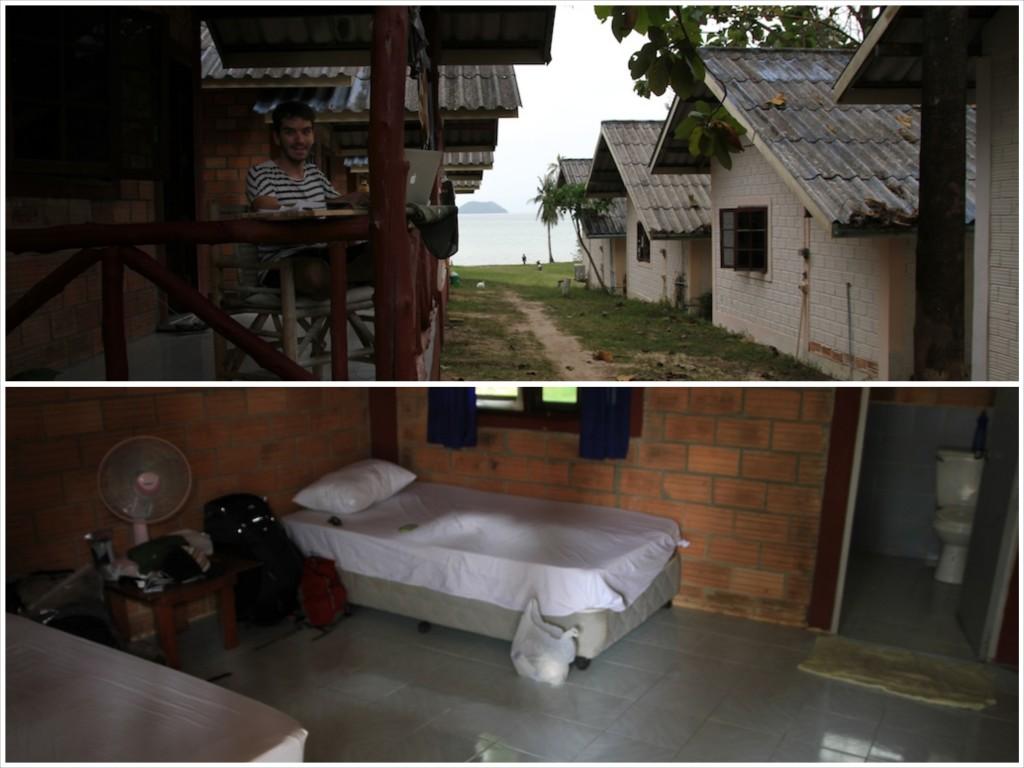 Bangalô barato na Tailândia em Ko Phangan