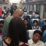 A saga de uma viagem de trem noturno na China