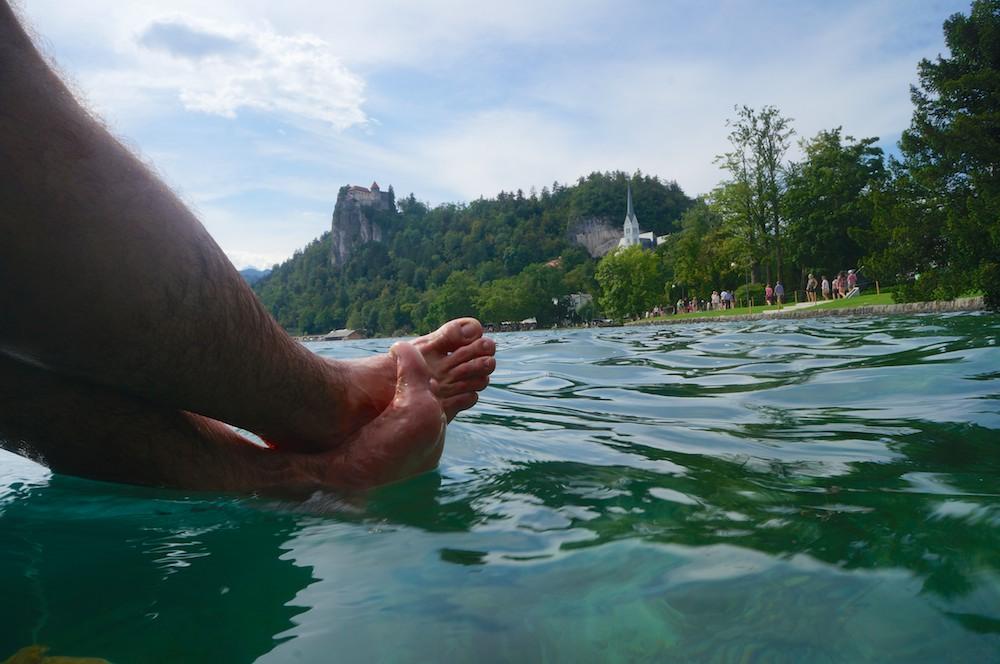 Castelo e lago de Bled, Eslovenia