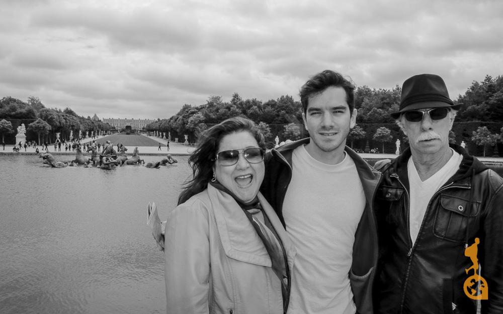 Finalmente realizando meu sonho de viajar para longe com meus pais! :)