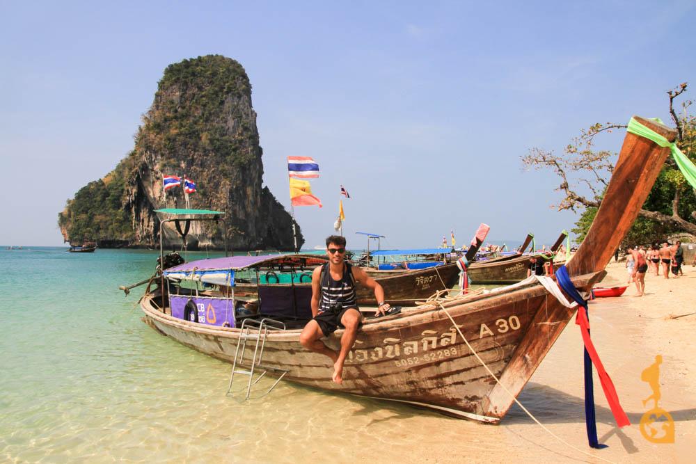 Praia paradisíaca Tailândia